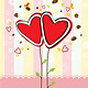Heart Tree and Sweet Background - GraphicRiver Item for Sale