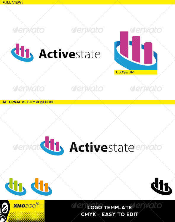 GraphicRiver Activestate Logo 6474449