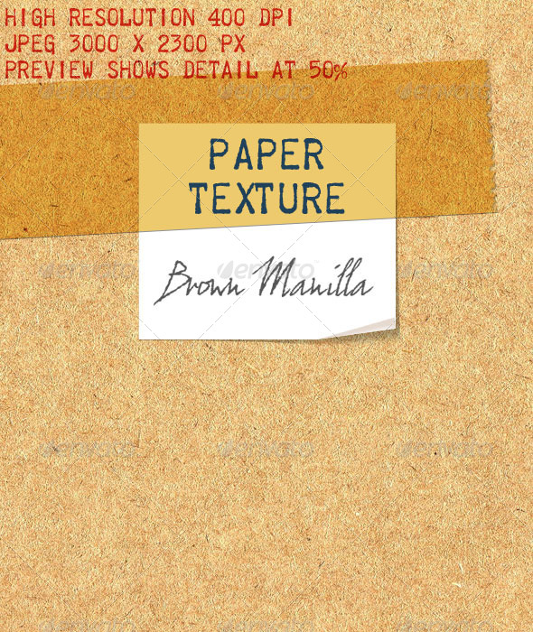 GraphicRiver Manilla Hemp Paper Recycled Brown Paper 6474821