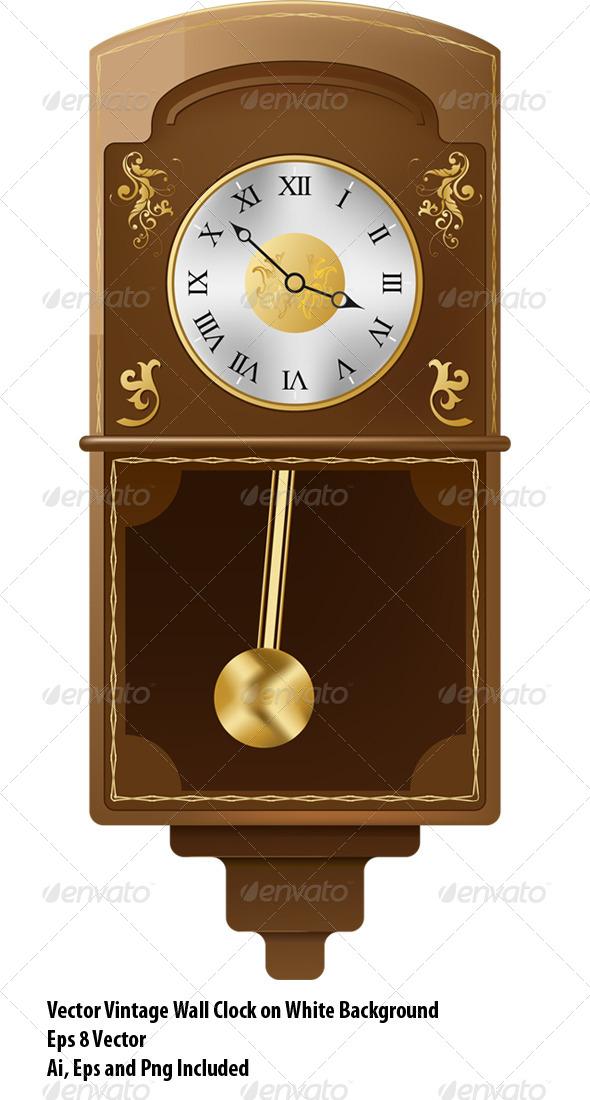 GraphicRiver Vintage Wall Clock 6474945