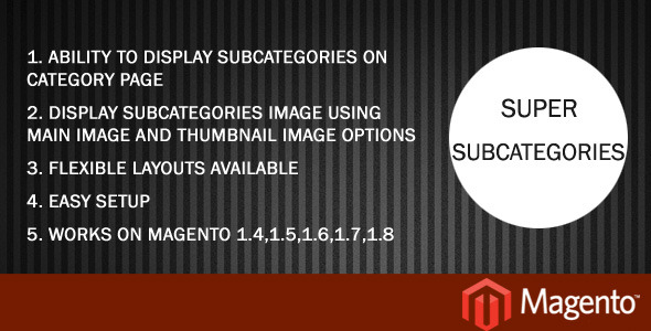 CodeCanyon Super Subcategories 6475032