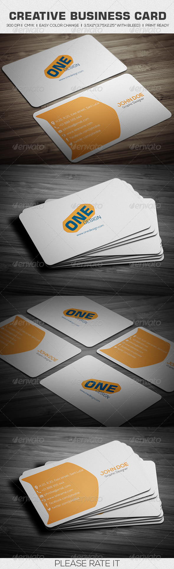 GraphicRiver Creative Business Card 6475066