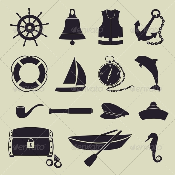 GraphicRiver Sea Icons 6475764