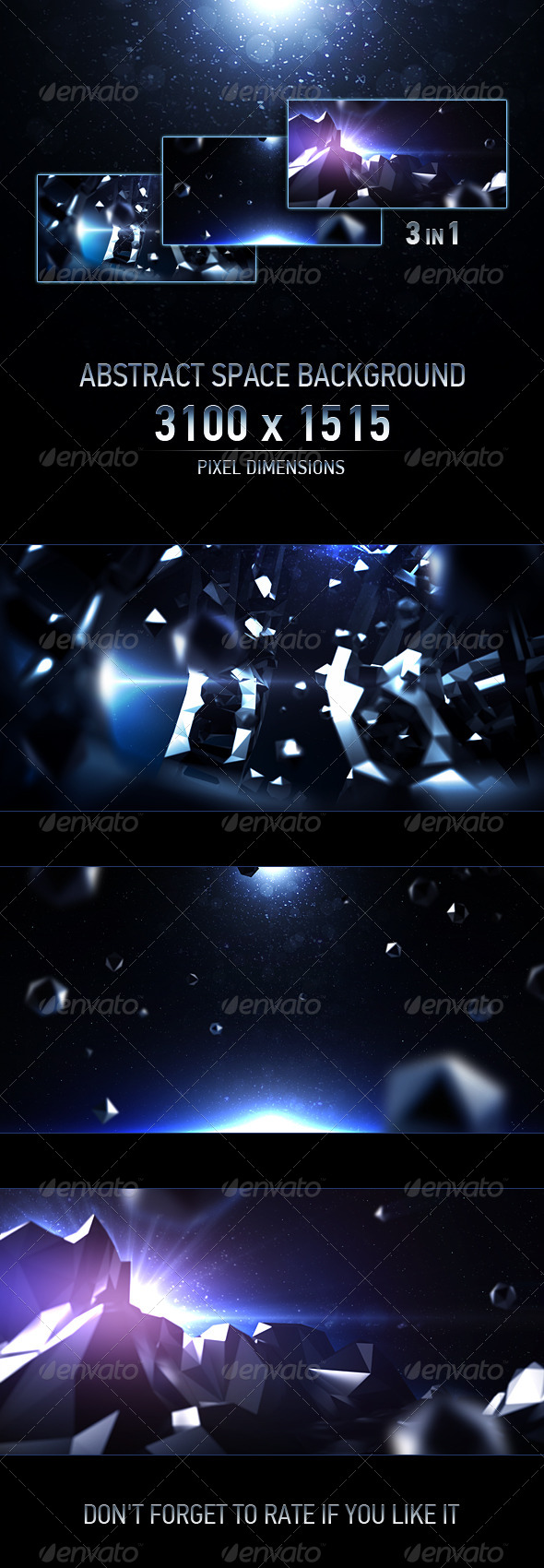 GraphicRiver Abstract Space Background 6475983