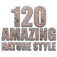 120 Amazing Nature Styles - GraphicRiver Item for Sale