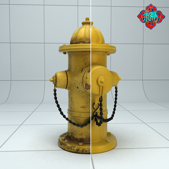 3DOcean Fire Hydrant Highploy version 6476110