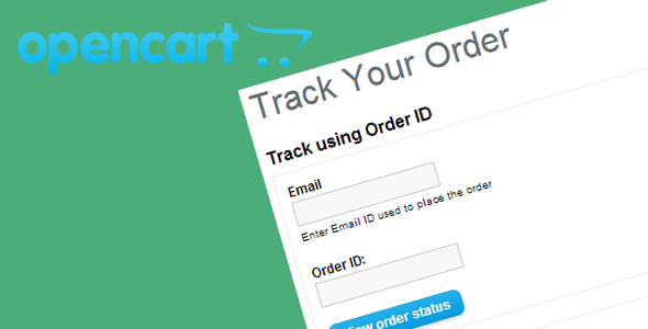 Opencart Track Order