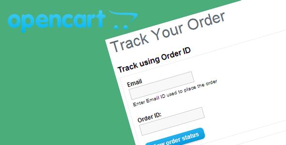 Opencart Track Order