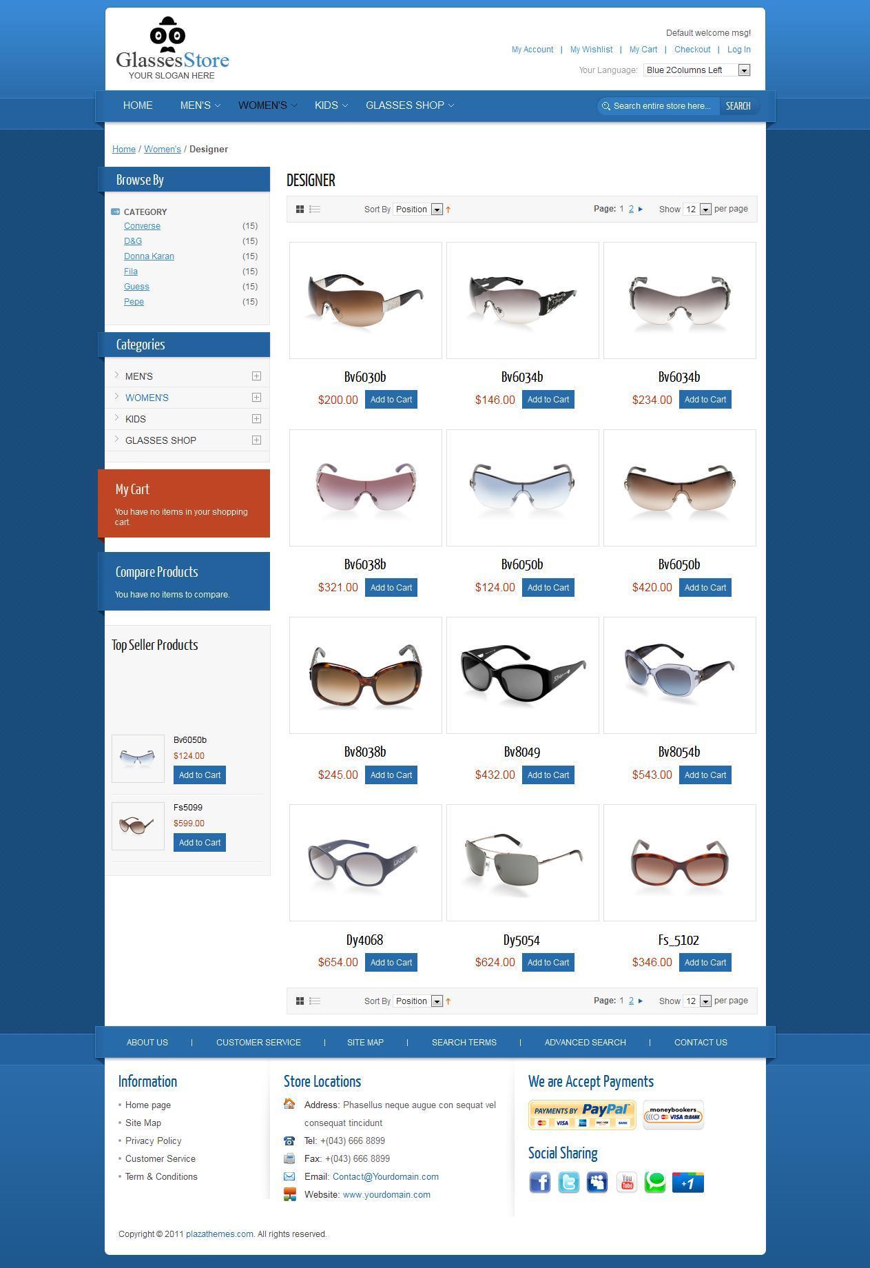 GlassesStore