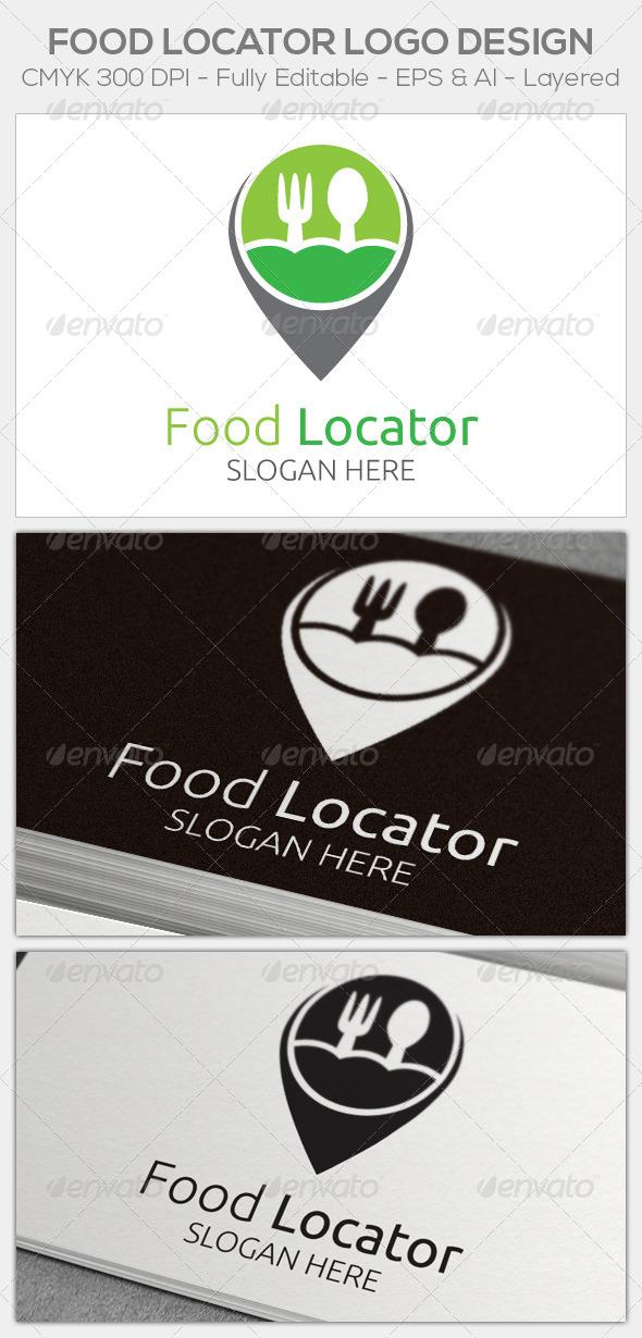 GraphicRiver Food Locator 6476507