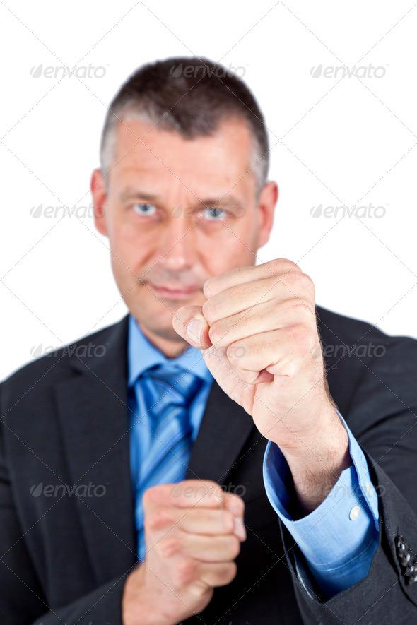 business boxing - Stock Photo - Images