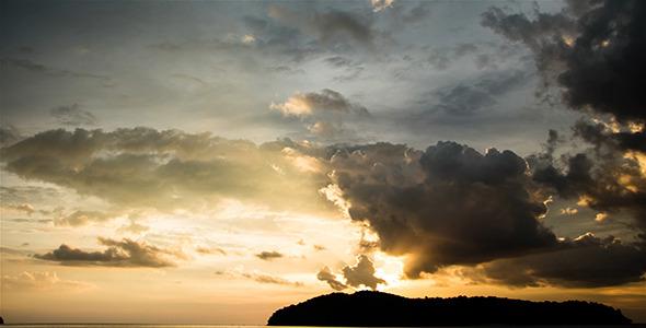Sunset at Langkawi Island