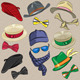 Hipster Accessories - GraphicRiver Item for Sale