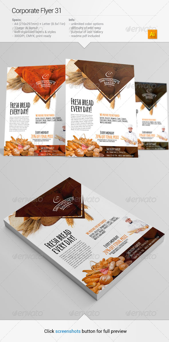 GraphicRiver Corporate Flyer 31 6477246