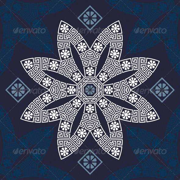 GraphicRiver Traditional Vintage Greek Ornament 6477395