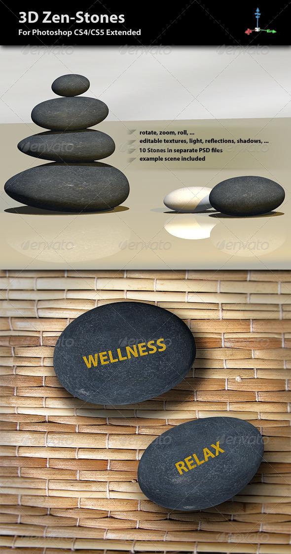 3D Zen-Stones