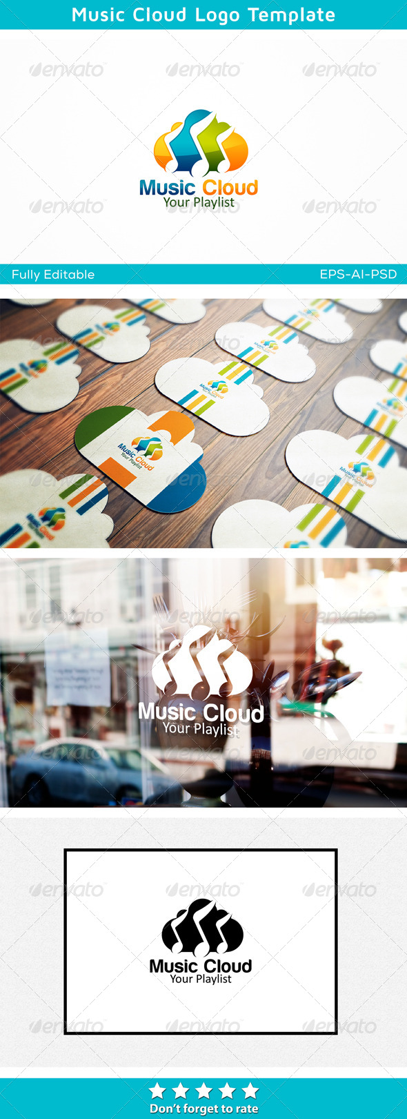 GraphicRiver Music Cloud 6477397