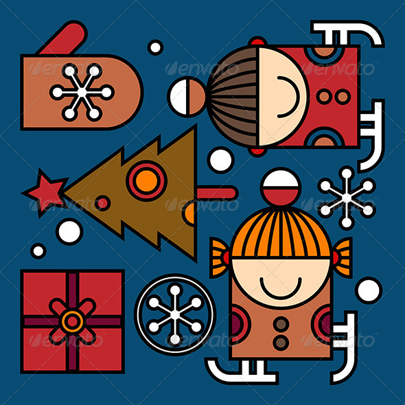GraphicRiver Christmas Pattern 6477229