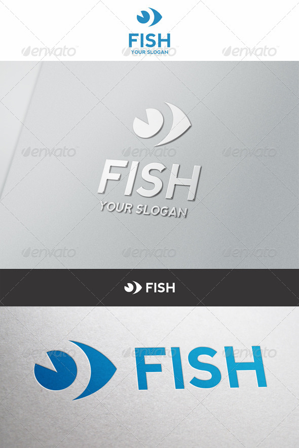 Simple Fish Logo - Symbols Logo Templates