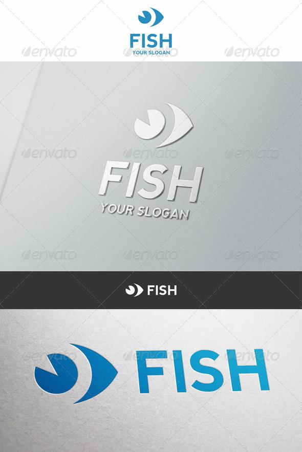GraphicRiver Simple Fish Logo 6477910