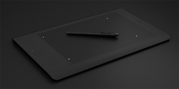 3DOcean Wacom Intuos 5 Tablet 6478130