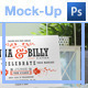 6 Photo Realistic Cards and Invites Mock-Ups - GraphicRiver Item for Sale