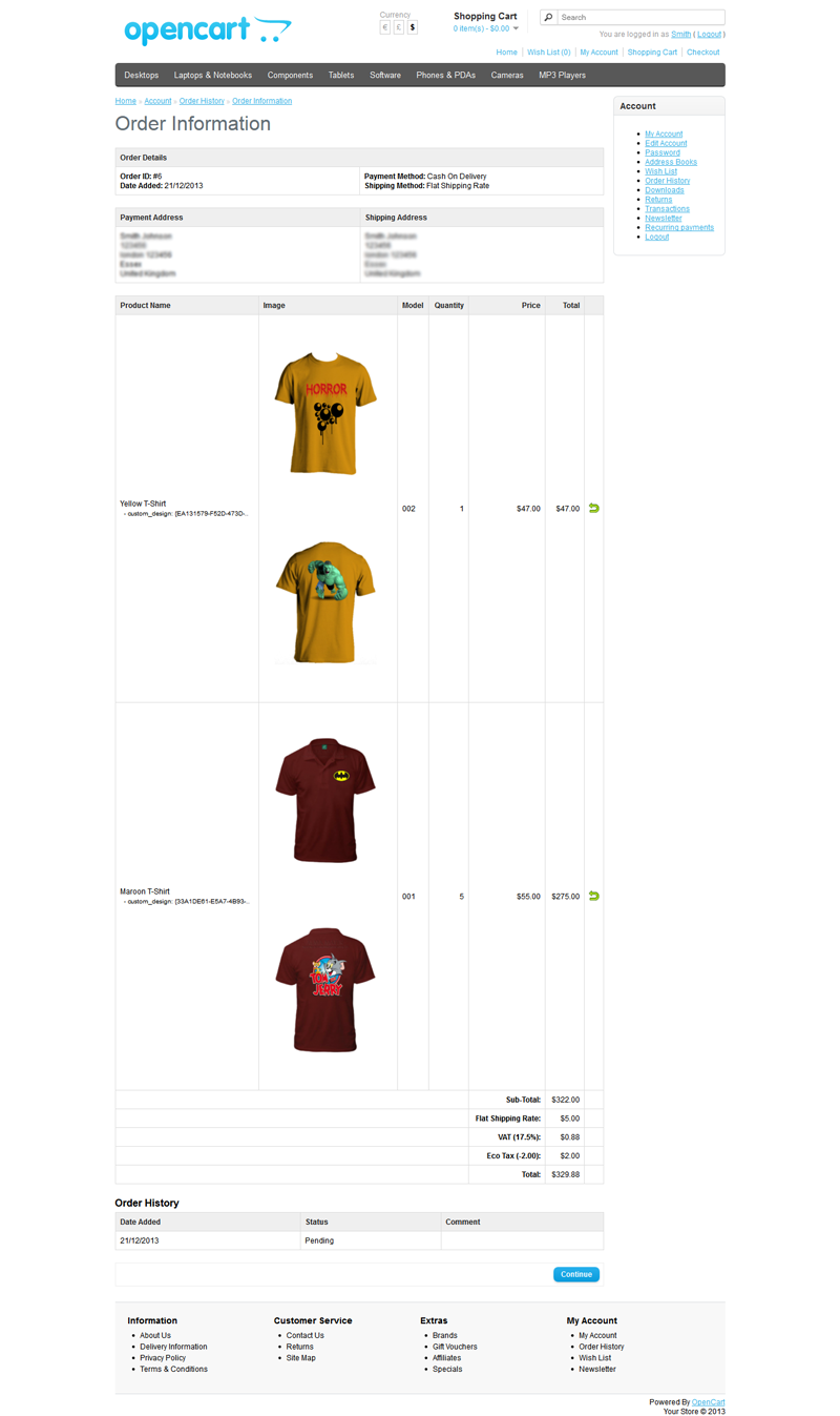 Joomla tshirt design - Setup_preview Setup 01_preview Png