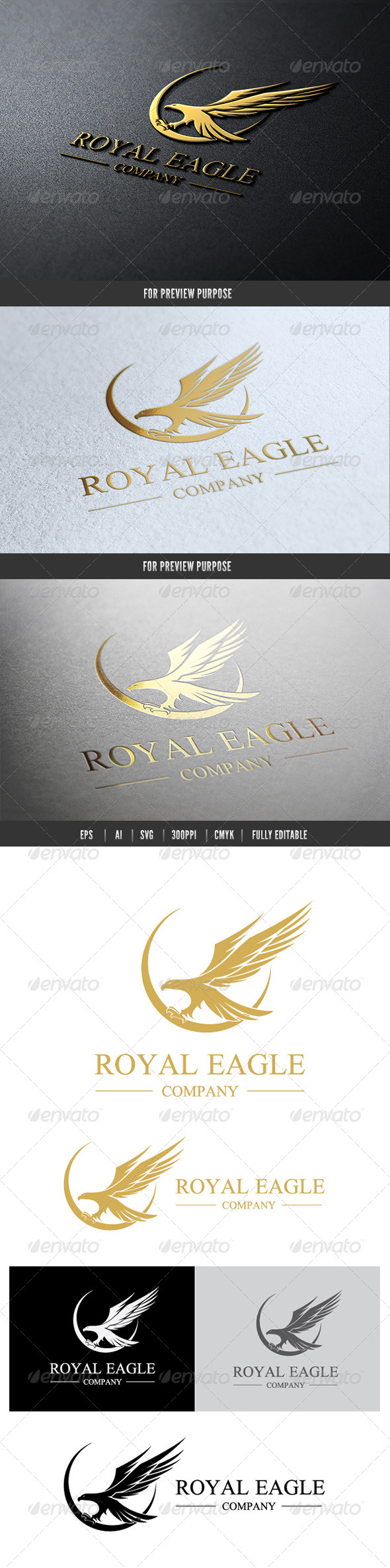 GraphicRiver Eagle Royal Logo 6478221