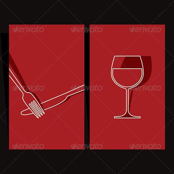 GraphicRiver Wine List and Menu Design 6478363