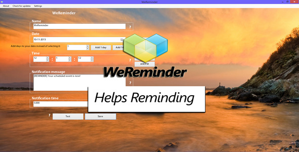 CodeCanyon WeReminder 6452440