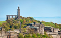 Calton Hill at Edinburgh, Scotland - PhotoDune Item for Sale