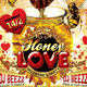 Valentine's Honey Love Party Flyer Template - GraphicRiver Item for Sale