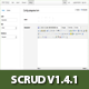 PHP SCRUD Data Management Tool Version 1.4.1