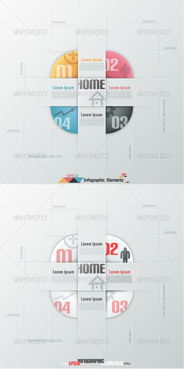 GraphicRiver Modern Infographic Options Banner Two Versions 6479633