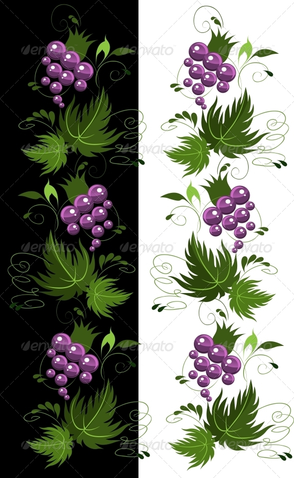 GraphicRiver Ornament from Grapes 6479647