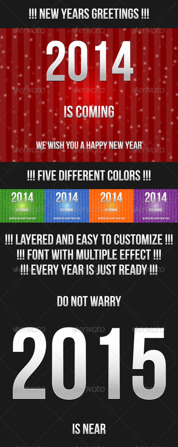 GraphicRiver New Year Greetings 6479414