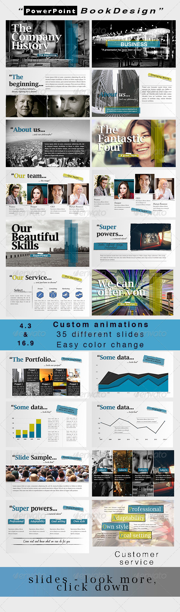 GraphicRiver Powerpoint BookDesign 6480030