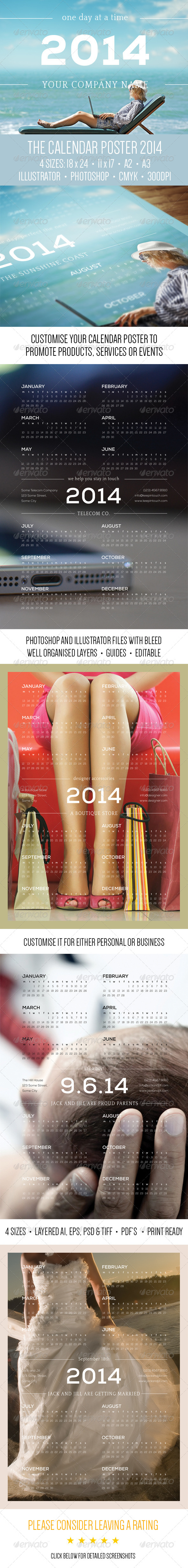 GraphicRiver The Calendar Poster 2014 6448419