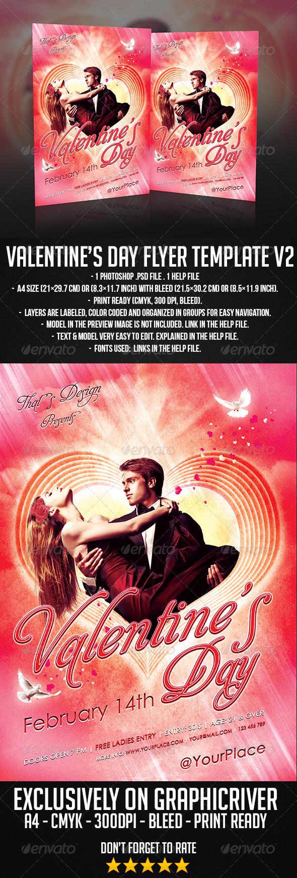 GraphicRiver Valentine s Day Flyer Template 6480260