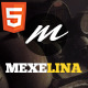 Mexelina - Onepage Creative Portfolio Template - ThemeForest Item for Sale