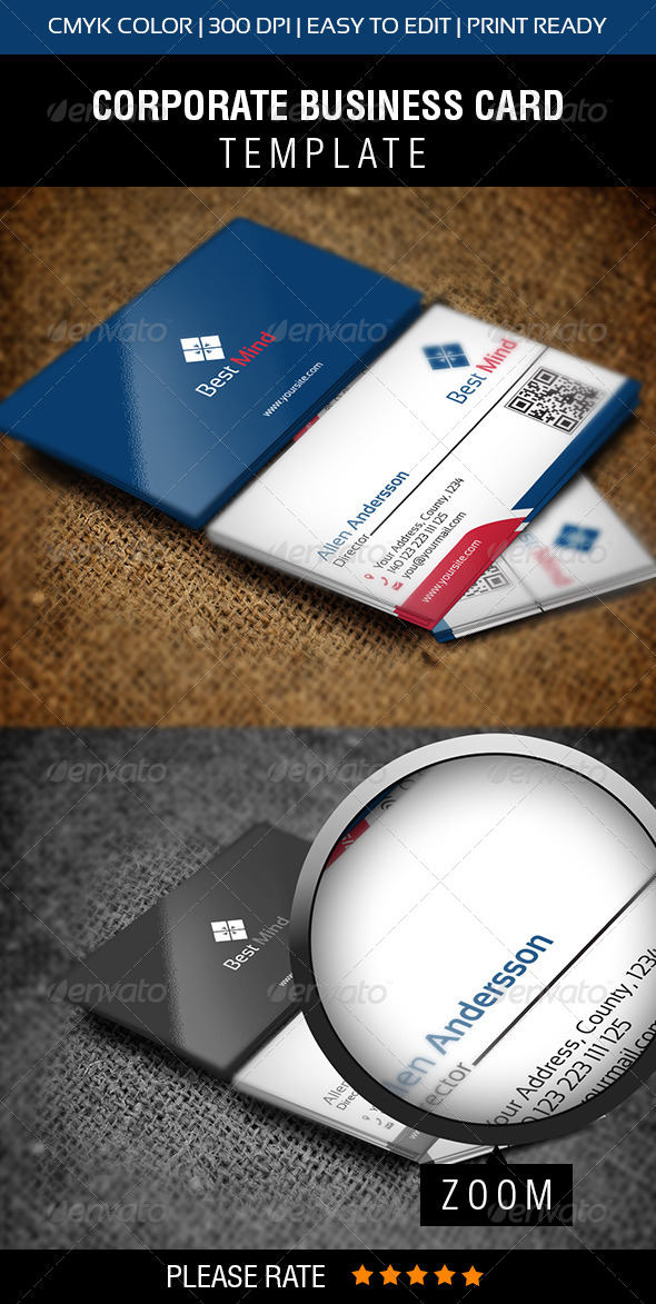 GraphicRiver Best Mind Business Card 6445037