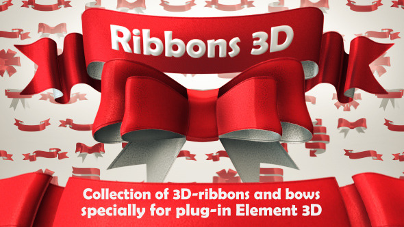 Ribbons 3D Pack
