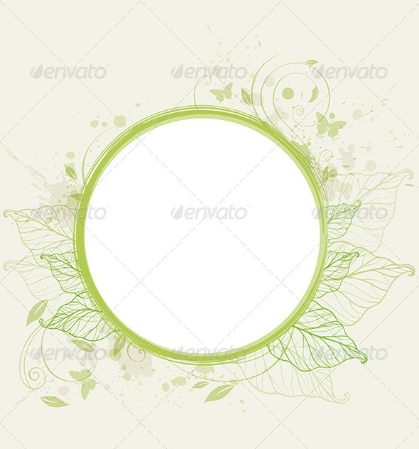 GraphicRiver Green Ecology Banner 6481576