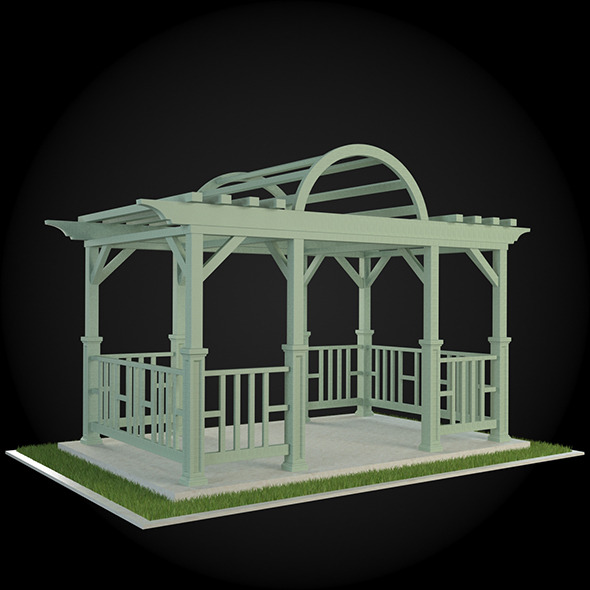 Pergola 016 - 3DOcean Item for Sale