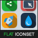Flat Vector Iconset Vol 1 - GraphicRiver Item for Sale