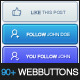 90+ Web Buttons - GraphicRiver Item for Sale