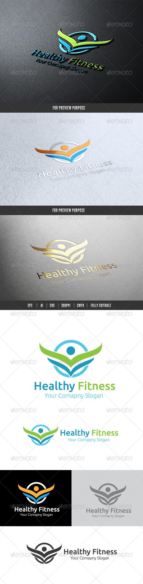 GraphicRiver Heathy Fitness 6482095