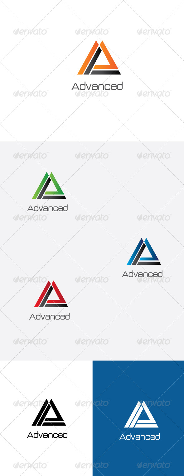 GraphicRiver A Letter Logo Template 6482331