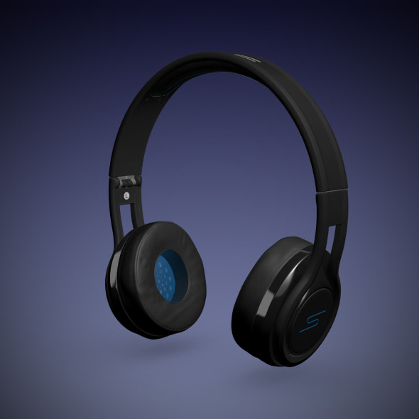 SMS Headphones - Streets by 50 - 3DOcean Item for Sale