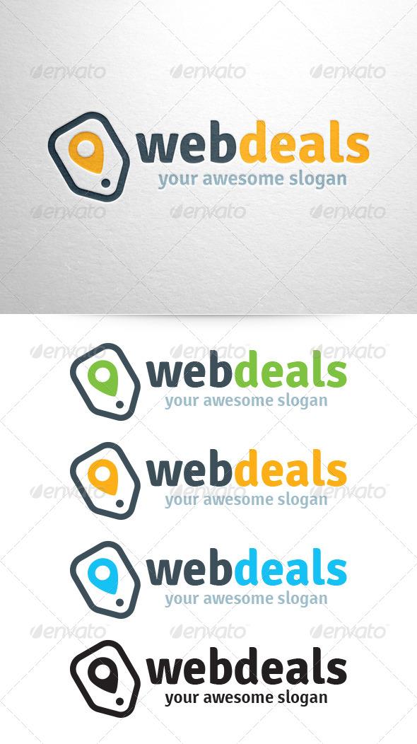 GraphicRiver Web Deals Logo Template 6482692